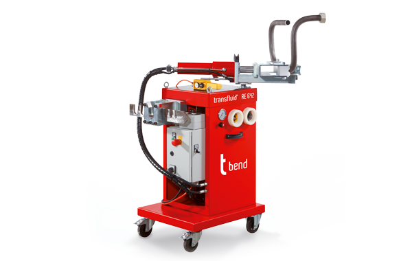 Mobile bending machines